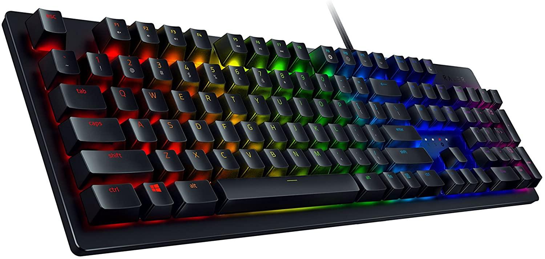 Razer Huntsman Gaming Keyboard $89.99 / Goliathus Extended Chroma Mousepad Bundle $139.98