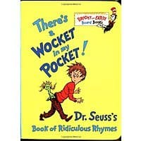 Amazon Deal: There's a Wocket in My Pocket! Dr Seuss Board Book - $2.50 Prime with $2 digital credit