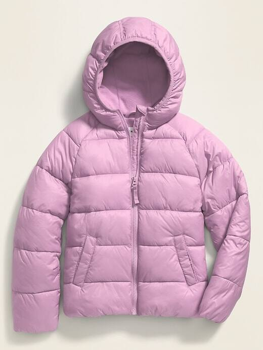 old navy girls frost free puffer jackets $10 for cardholders