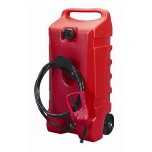 Scepter Duramax 14 Gallon Wheeled Fuel Container with Flo N Go Fuel Caddy 97.34+Tax FS $105.37