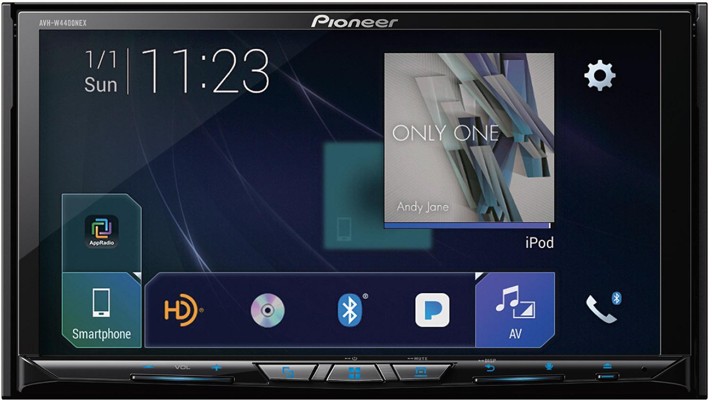 Pioneer AVH-W4400NEX Navigation/DVD/CD 7