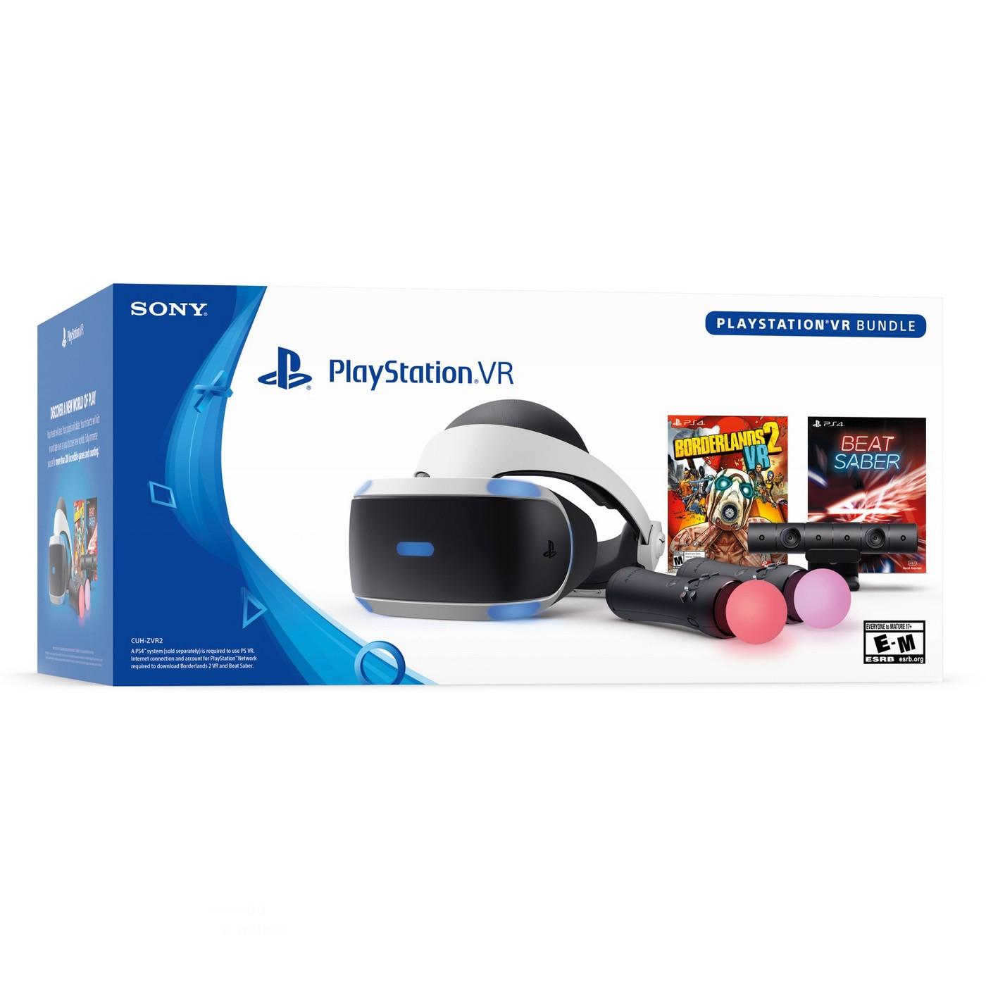 Playstation 4 VR - Borderlands/Beat Saber Bundle $249 99 - Target