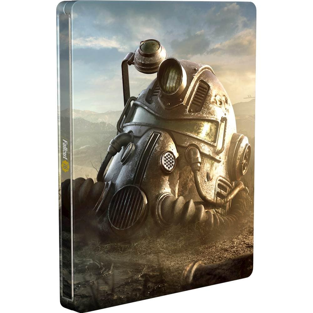 Fallout 76 Steelbook (case only) $5 at Bestbuy.com and in store (PS4, Xbox One, and PC)