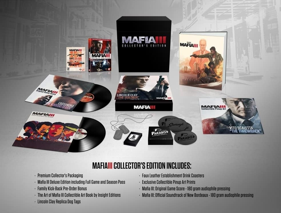 Mafia III Collector's Edition PS4 and Xbox One $52.99 / PC $67.99 - Best Buy (in store and online)