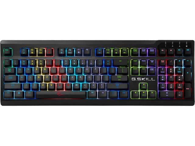 G.SKILL RIPJAWS KM570 RGB Mechanical Gaming Keyboard - Cherry MX RGB Brown @Newegg $65