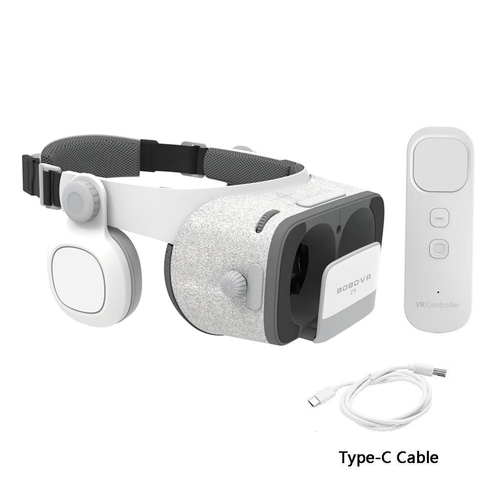 26.99 (50% off with code 5SPT33NA) BOBOVR Z5 Daydream View 3D VR Headset with Gyroscope Remote Controller for Daydream Smartphones $26.99