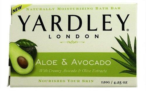 Yardley London Aloe & Avocado Naturally Moisturizing Bath Bar, 4.25 ounce $0.9
