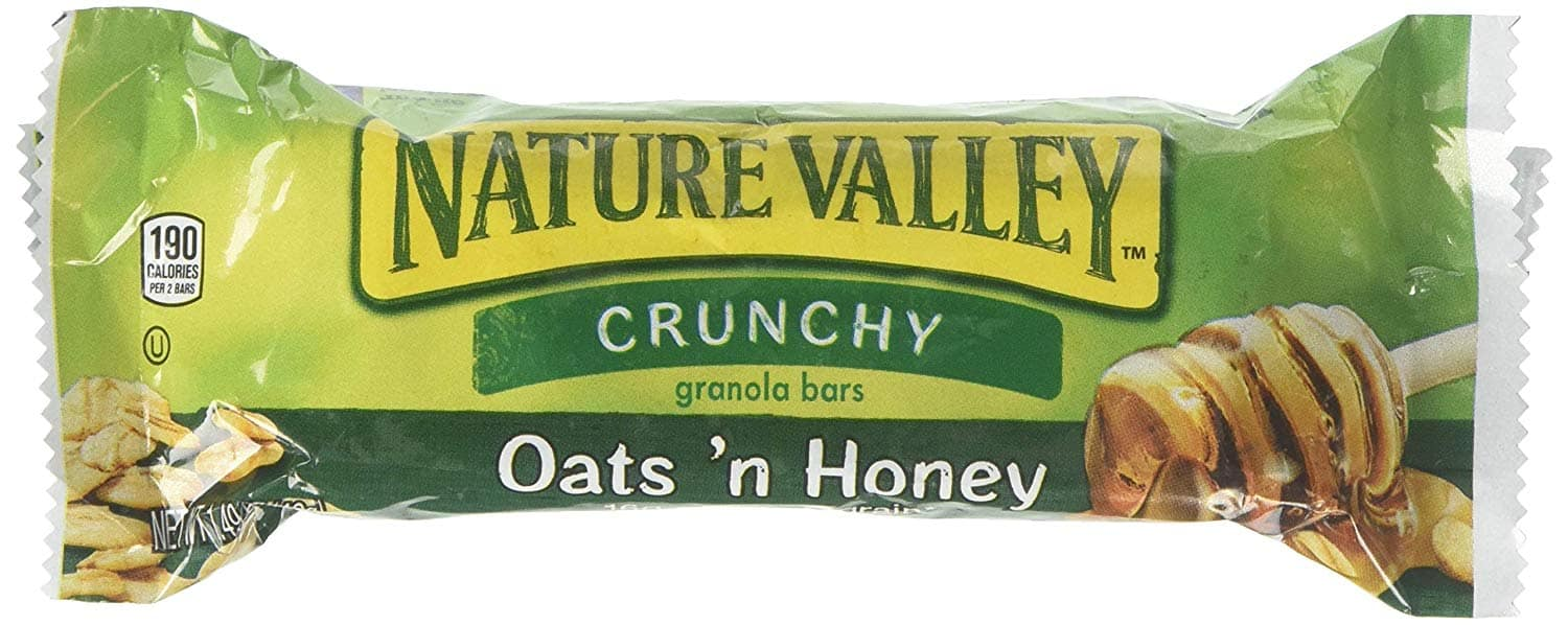 Nature Valley Granola Bar, Oats and Honey (single bar), $0.25 with Free Prime shipping, limit 4 per customer