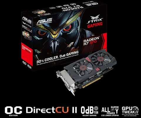 ASUS Radeon R7 370 STRIX - $89.99 ($119.99-$30 MIR)