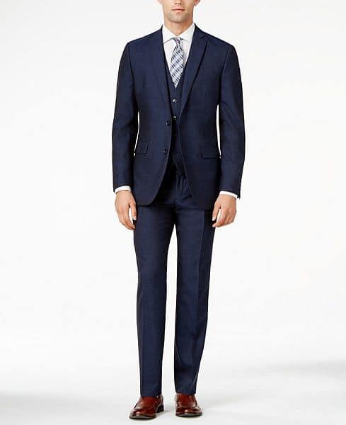 Bar III Midnight Blue Slim-Fit Suit Separates - $49/$99