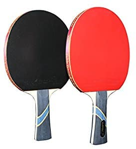 MAPOL 4 Star Professional Ping Pong Paddle Advanced Training Table Tennis Racket With Carry Case ( 2PCS)  - $18.99 fs w/prime