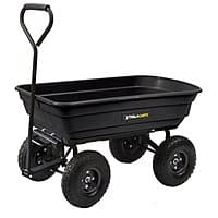 Lowes Deal: Gorilla Carts 3-cu ft Poly Yard Cart - $54.98 with coupon