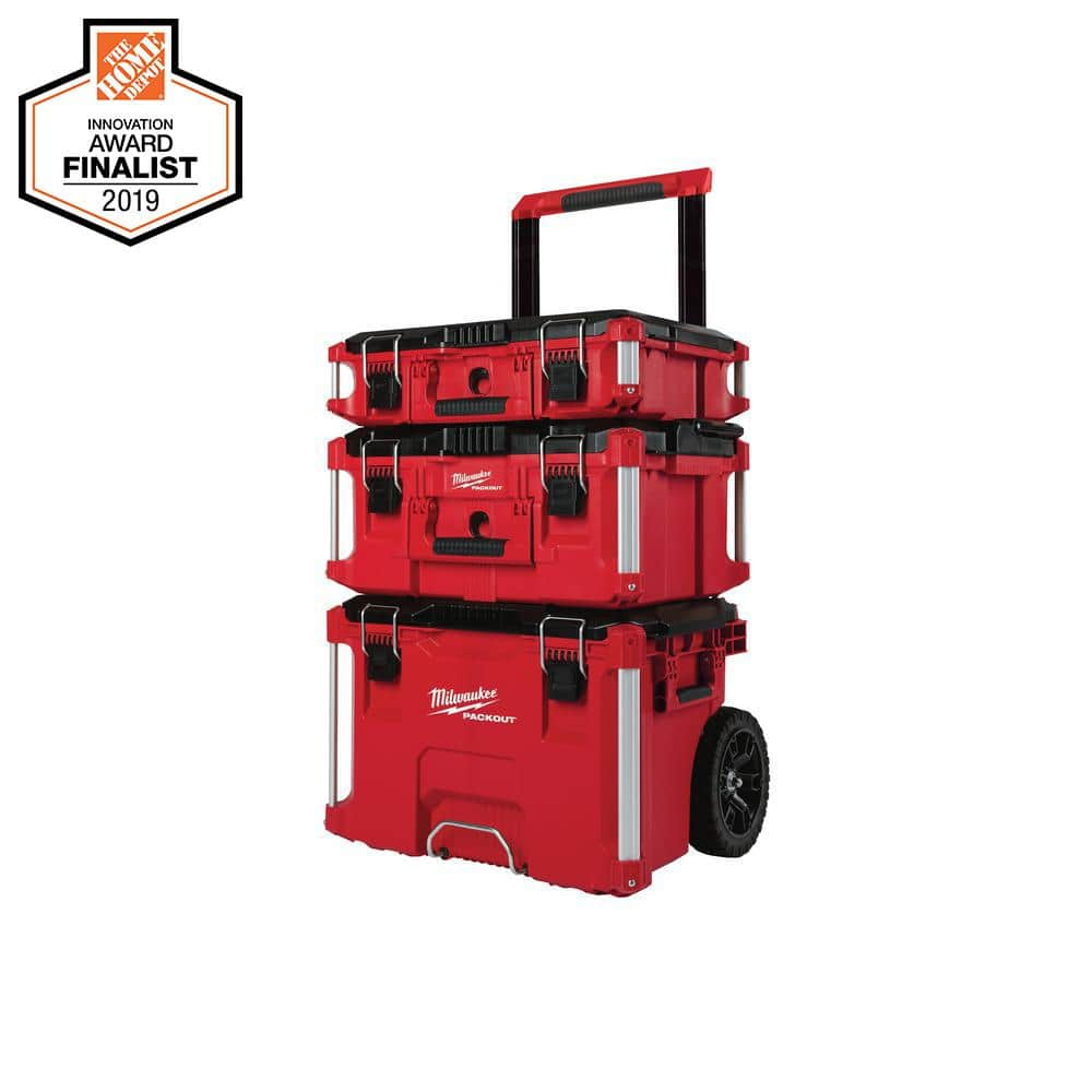 3-Piece Milwaukee Packout Toolbox Kit $129 - B&M Only YMMV