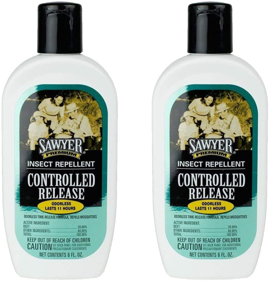 Sawyer 20% DEET Premium Family Insect Repellent 2-Pack $13.61