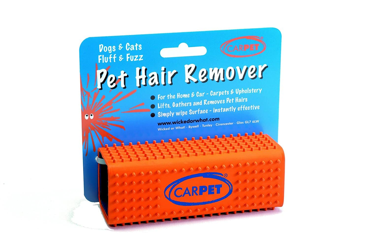 CarPET Pet Dog Hair Remover - $6.00 FS and up to 50% off on other dog toys and products