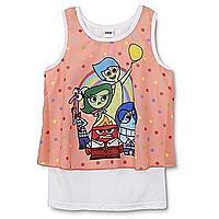 Disney Inside Out Girl's Tank Top - Polka Dot $  1.99 + ship @sears.com