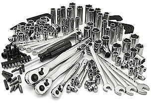 Craftsman 155-Piece Mechanics Tool Set $79.99 + fs @sears.com $80