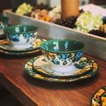 The Pioneer Woman Rose Shadow 12-Piece Dinnerware Set $37.97 + fs