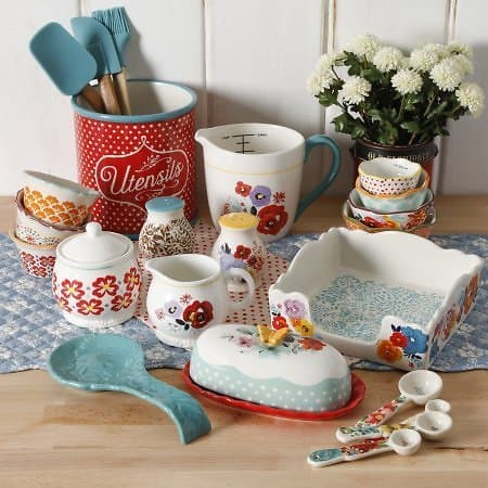 The Pioneer Woman Flea Market 25-Piece Pantry Essential Set $49.97 + fs