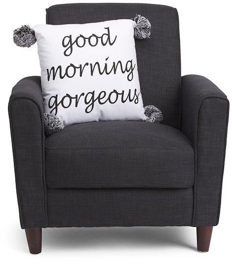 JAMES HOME 18x18 Good Morning Gorgeous Pillow $16.99