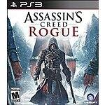 Assassin's Creed Rogue PS3 $9.99 @ Amazon.com