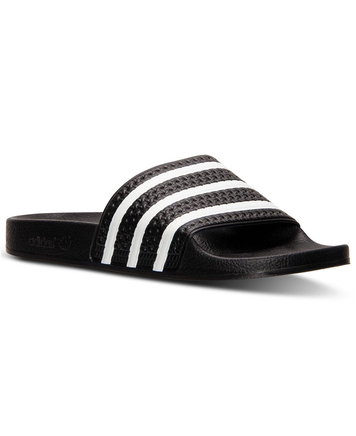 Adidas Men's Adilette Slide Sandals $19.98 Free ship on order $49 or with beauty item