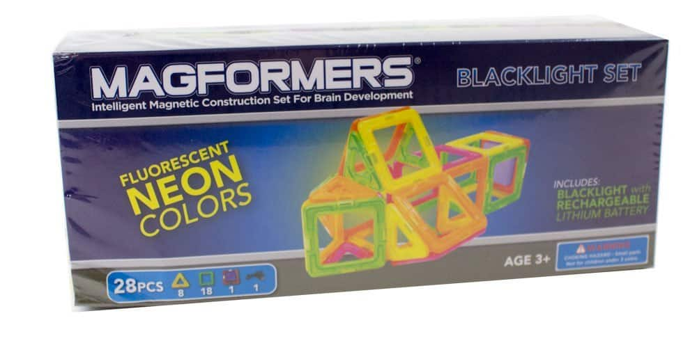 Magformers Neon 28 pc Blacklight Set-Amazon for $19.92