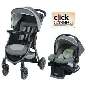 Graco FastAction 2.0 Travel System, Mason $155.99