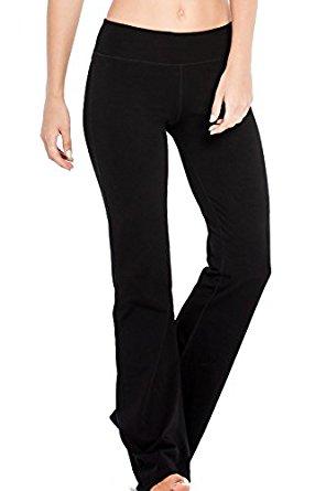 Houmous Women's Yoga Bootleg Pants Inner Pocket Workout Leggings (S-XXL) $16.79