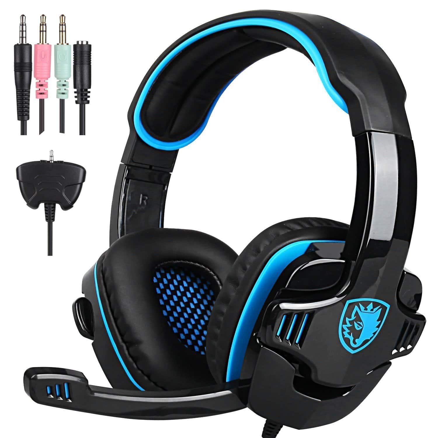 SADES Gaming Headset Headphone For PS4/PC/Laptop/Xbox 360 with Microphone SA-708GT $17.24