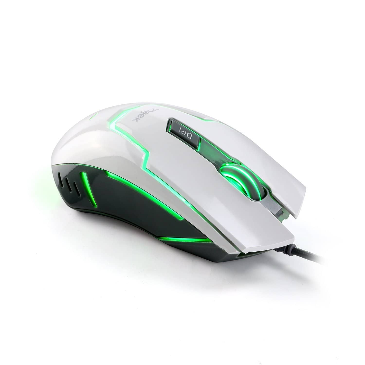 7-Color Breathing LED Light USB Wired Gaming Mouse with 4000 DPI and Advanced Gaming Sensor $12.91