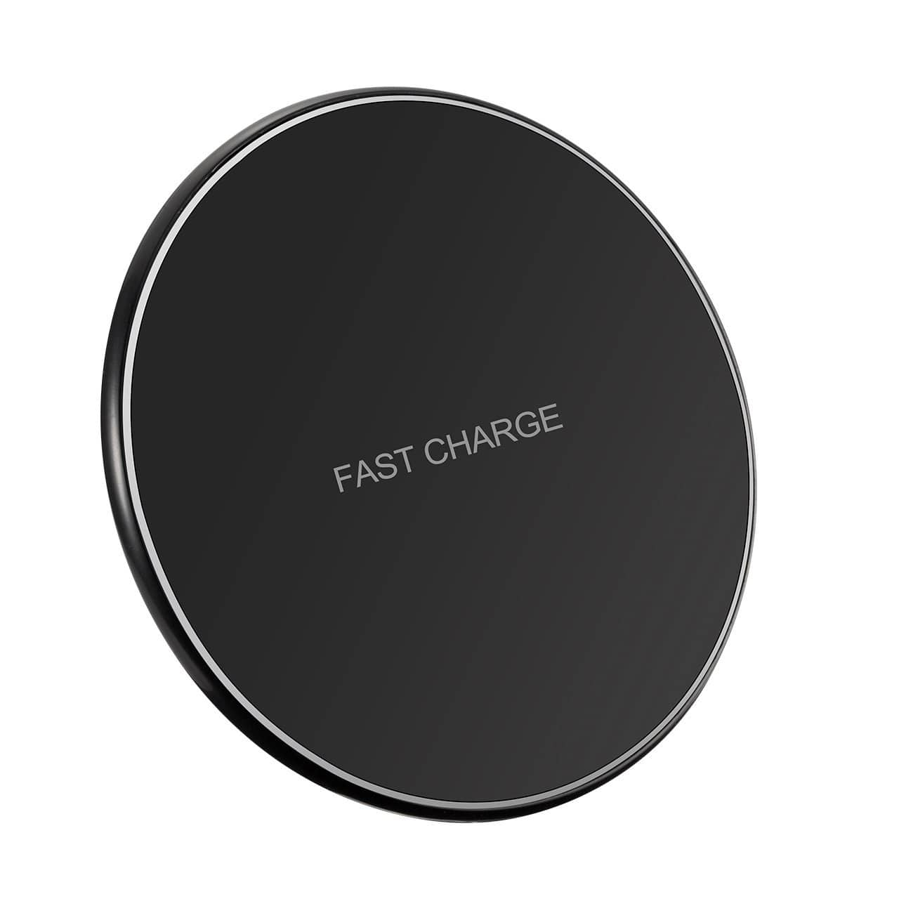 Pictek Fast Wireless Charger, QI Wireless Charging Pad (Ultra Slim) (Sleep-Friendly) For iPhone and Samsung Galaxy $13.99