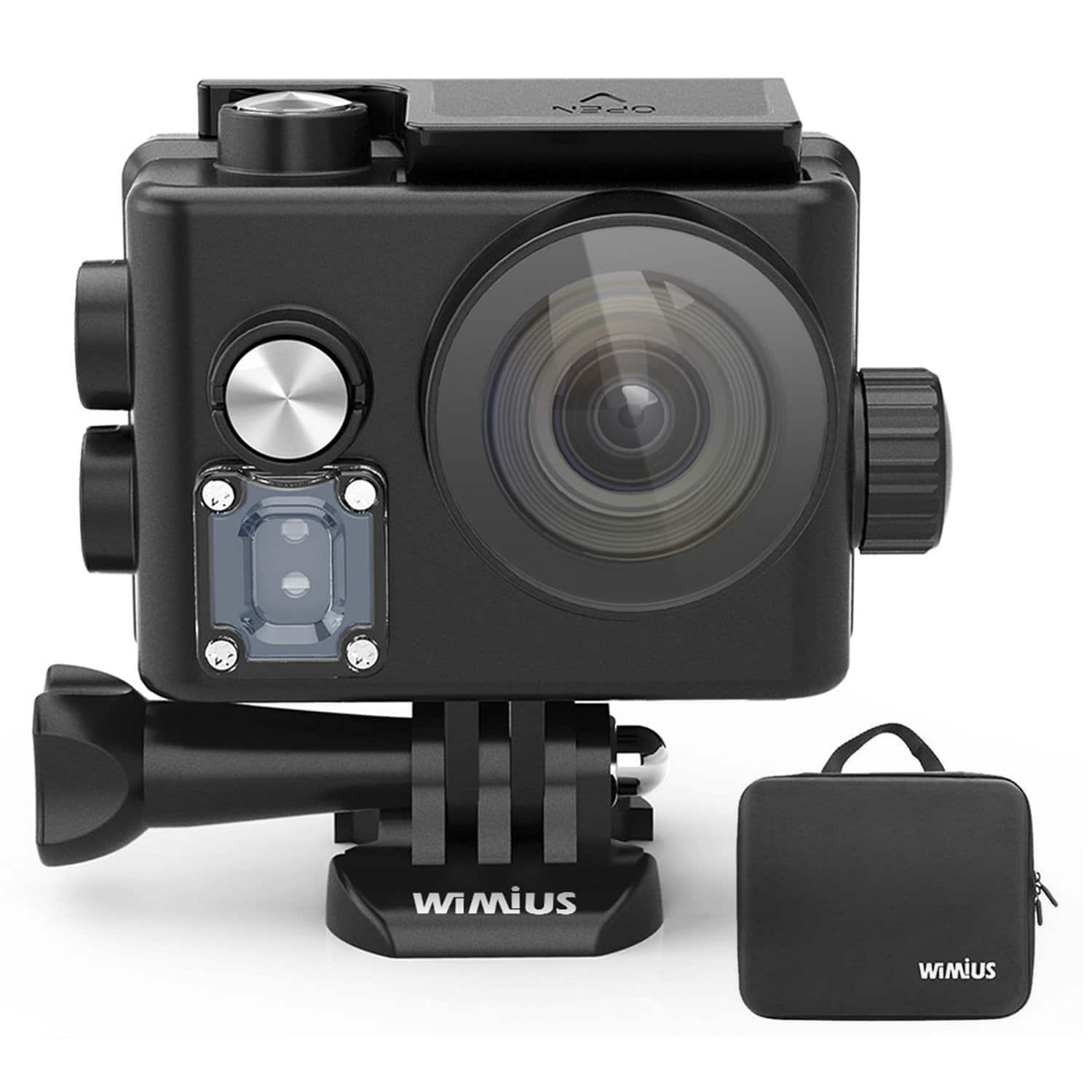 WiMiUS L2 Underwater Action Camera 4K Sports HD Helmet Camera at $62.99 @Amazon Free Shipping