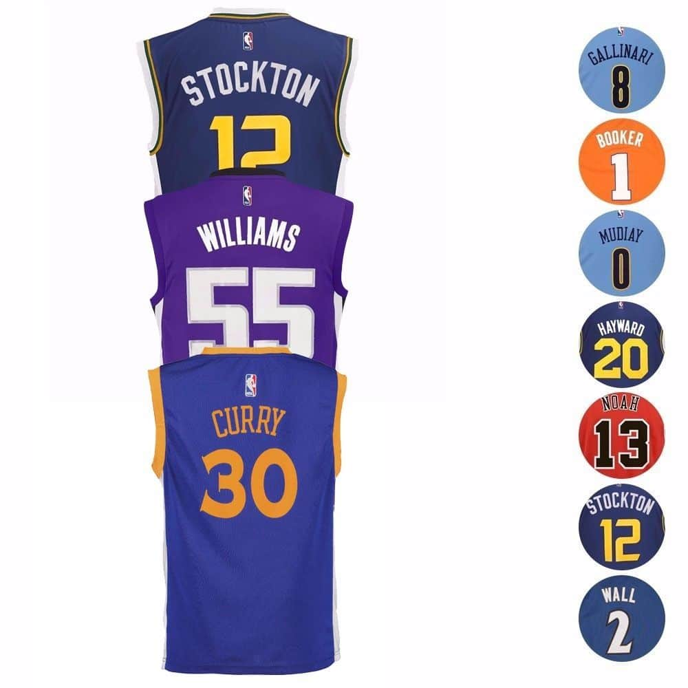 NBA Official Replica Basketball Player Jersey Collection Adidas Toddler (2T-4T)  $9.99 with FS