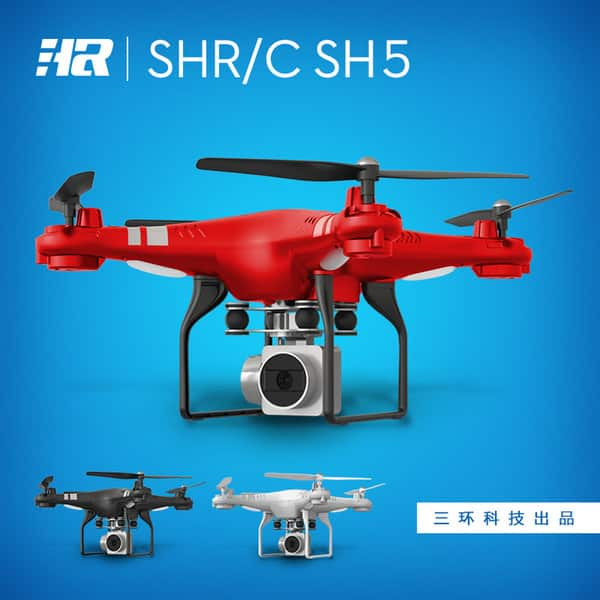 HR SH5 Drone  w/720p Camera on sale for $59.99