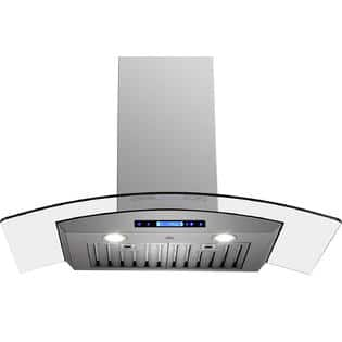 "Golden Vantage 36"" EX-AK-D05-36-00 Euro Style Wall Mount Stainless Steel Range Hood $179.99"