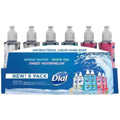 Samsclub.com: Dial Antibacterial Liquid Hand Soap, Variety Pack (9.375 oz., 6 pk.) $7.98 + FS for Plus members
