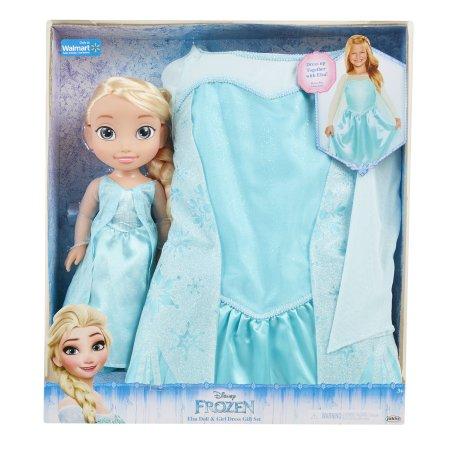 Jakks Pacific Disney Princess Doll & Dress - Elsa $5 YMMV