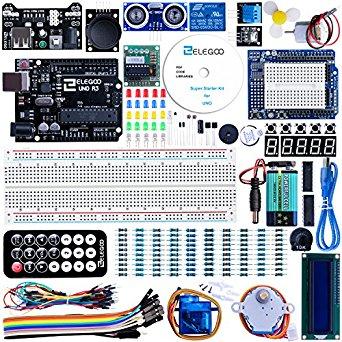 Elegoo Arduino Starter Kit - Amazon Lightning Deal $26.76