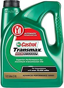 Castrol 03518 Transmax ATF Green High Mileage Transmission Fluid - 1 Gallon [High Mileage] $15