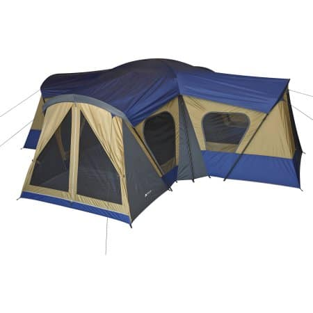 Deal Image  sc 1 st  Slickdeals & Ozark Trail 14-Person 4-Room Base Camp Tent - Slickdeals.net