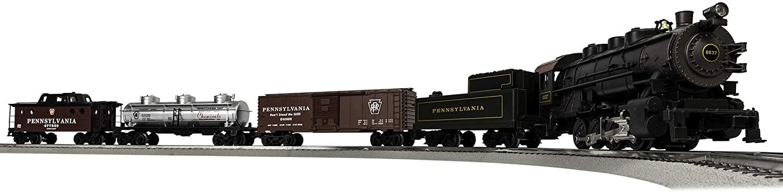 Lionel Pennsylvania Flyer Electric O Gauge Model Train Set w/ Remote and Bluetooth Capability - $205.15