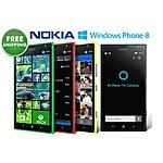Nokia Lumia 1520 WP 8.1 smartphone - Unlocked, Refurb $249