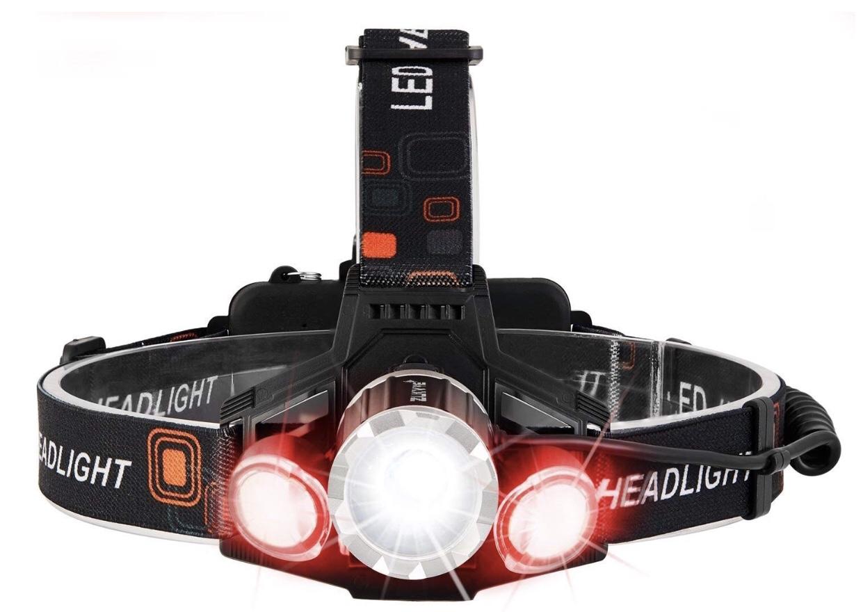 Rechargeable LED Headlamp Flashlight $9.99