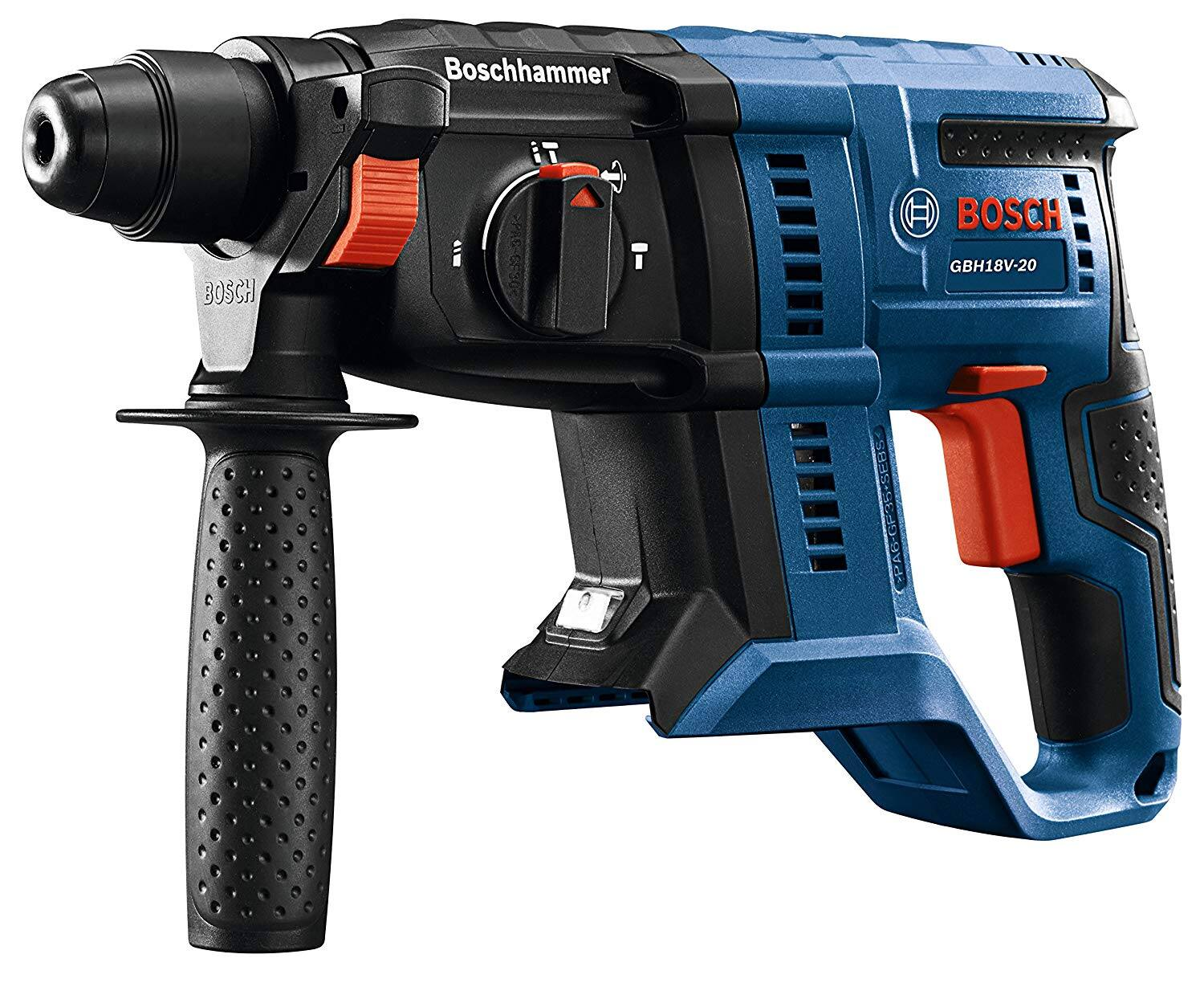 Bosch GBH18V-20N 18V 3/4 in. SDS-plus Rotary Hammer (Bare Tool) plus Bosch Core18v 4-Amp Lithium Power Tool Battery Kit (Charger Included) @ Lowes $118 YMMV