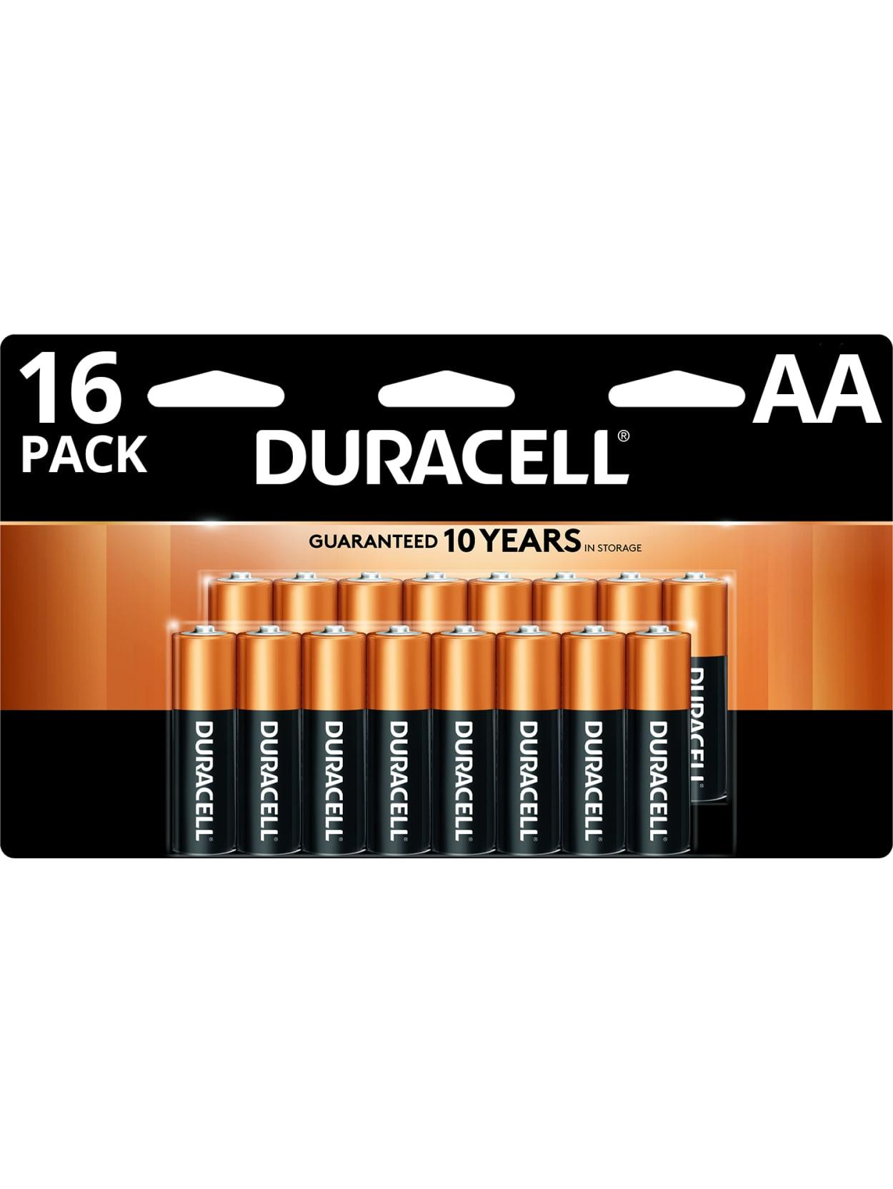 Office Depot Duracell® Coppertop Alkaline AA/AAA 16-PK & AA 24-PK + 100% Back in Rewards $ + Free Curbside Pickup