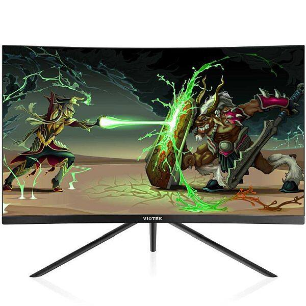 "VIOTEK GN27D 27"" HD Gaming Widescreen Curved Monitor – 144Hz & 1440p; [369.99 + FREE Shipping] $369.99"