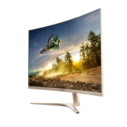 VIOTEK GN32Q - 32 Inch WQHD 144 Hz Curved Computer Monitor - 2560x1440p w/ Free Shipping for $429.99