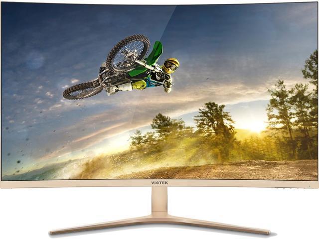 "VIOTEK GN32Q 32"" WQHD 144 Hz Curved Gaming Monitor 2560x1440, AMD FreeSync for $399.99 w/ Free Shipping"