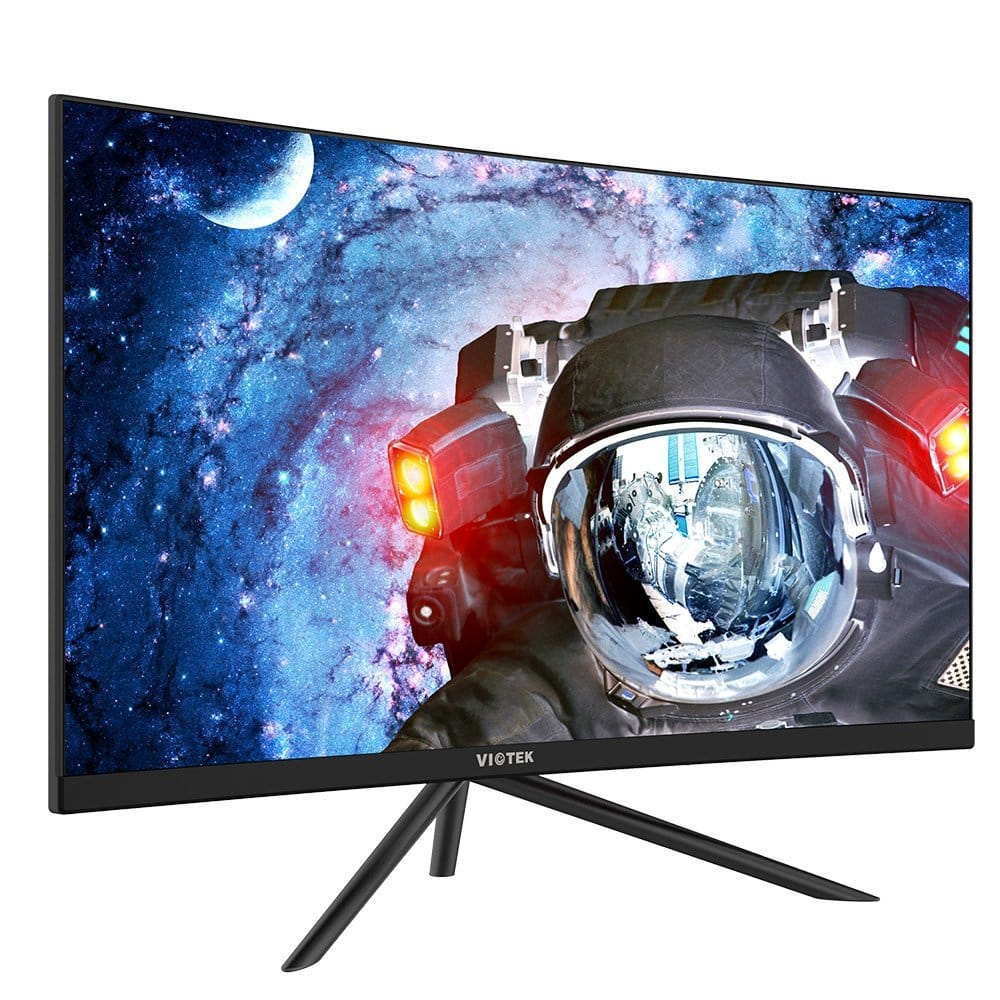VIOTEK GN27D 27 Inch 1440p 144hz Curved Gaming Monitor with Freesync for $349.99 with Free Shipping